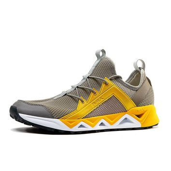 Rax Summer Men's Hiking Shoes Mesh Breathable Lightweight Quick-drying Wading Shoes Women Outdoor Walking Trekking Boots