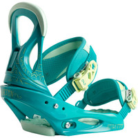Burton Stiletto Re:Flex Snowboard Binding - Women's Teal For Real,