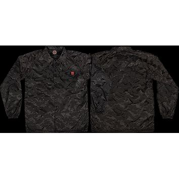 Independent Chadwick Coach Windbreaker Small 3d Black Camo