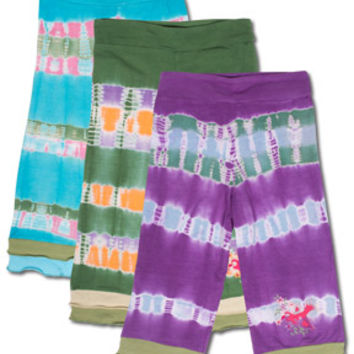 NEW! Kids Tie-Dye Yoga Pants: Soul-Flower Online Store