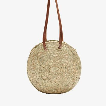 LUCENA. Oval Round Shopper Basket