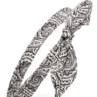 Ornate Paisley Headwrap