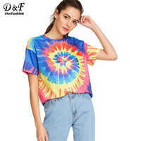 *online exclusive* tie dye t-shirt