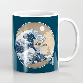 The Great Wave of Republic City Mug by adho1982