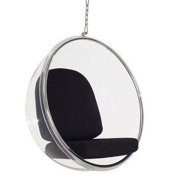 Ring Lounge Chair Black