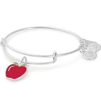 Apple Charm Bangle | Blessings in a Backpack