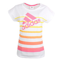 """Adidas"" Fashion Casual Multicolor Letter Print Short Sleeve T-shirt Sportswear"
