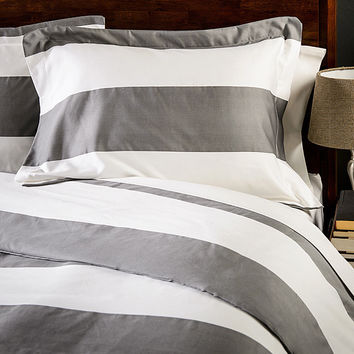 600 Thread Count Cabana Stripe Duvet Cover