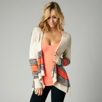 Fox Upbeat Cardigan Sweater