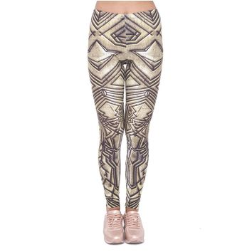 Ancient Dwarf Metallic Leggings