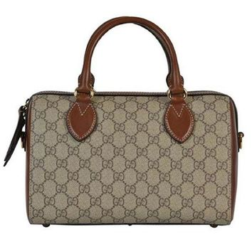 LMFIX5 Gucci. Boston Women Canvas Bag