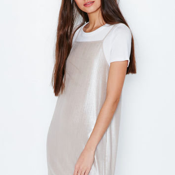 Kendall and Kylie Shimmery Slip Dress at PacSun.com