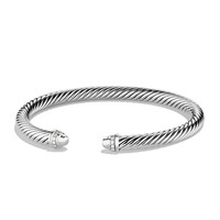 Cable Classics Bracelet with Diamonds - David Yurman