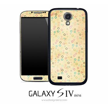 Colorful Empty Dots Skin for the Galaxy S4