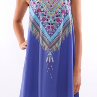 Lakota Dress Purple