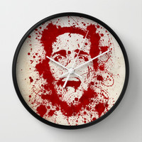 American Psycho Wall Clock by David