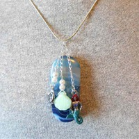 Mermaid Charm Pendant Necklace