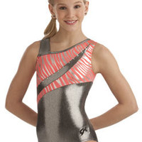 SWAROVSKI & Steel Tank Leotard from GK Elite