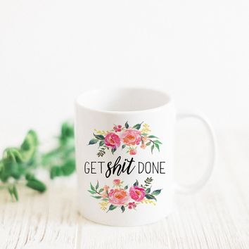 "PROMENADE FIELD ""GET SHIT DONE"" MUG"
