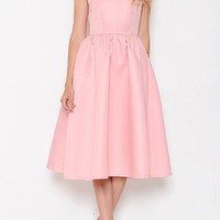 Dance the Night Away Dress - Blush