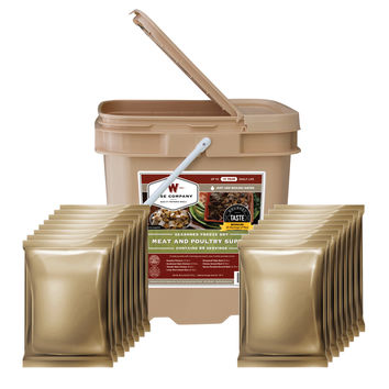 Wise 60 Serving Free Dried Meat Grab & Go Bucket