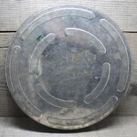 Vintage Steel Film Reel Canister Container Photography