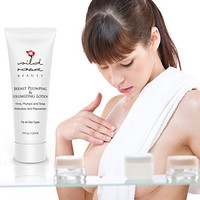 Breast Plumping Lotion - A Rejuvenating Firming Cream For Your Breasts - Moisturizing Lotion For Your Curves - Enhances Natural Contours - Rounds and Lifts - 100% Money Back Guarantee