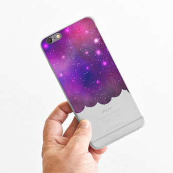 Galaxy Cloud - Super Slim - Printed Case for iPhone - S050