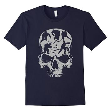 Sugar Skull Hockey T-Shirt