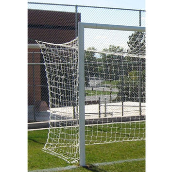 Gared Sports 8' x 24' FIFA-Style Soccer Net, 4 MM, White