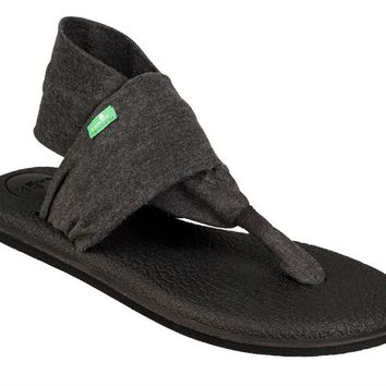 Sanuk New Yoga Sling 2 Charcoal Sandals