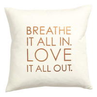 H&M Printed Cushion Cover $9.99