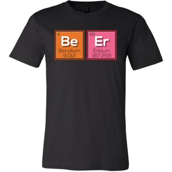 Nerdy Funny Periodic Table Beer T-shirt