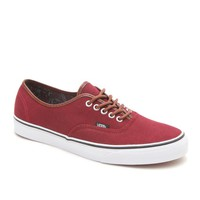 Vans Authentic Washed C&L Shoes - Mens Shoes - Red