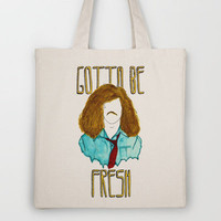 Workaholics III  Tote Bag by Lydia Dick