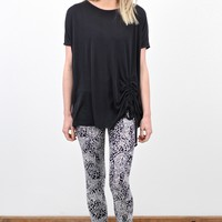 Cheetah Dailies Printed Leggings {Black Mix}