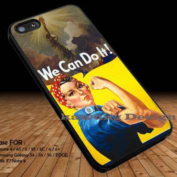 Rosie the Riveter iPhone 6s 6 6s+ 5c 5s Cases Samsung Galaxy s5 s6 Edge+ NOTE 5 4 3 #other DOP2296