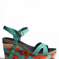Panama Crossing Wedges - $62.00 : ThreadSence.com, Free-spirited fashion for the indie-inspired lifestyle