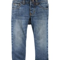 Microfleece-Lined Jeans - Dark Heritage Wash