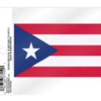 """FIFA Puerto Rico 3.5"""" Static Cling Decal Sticker World Cup Soccer COPA Football"""