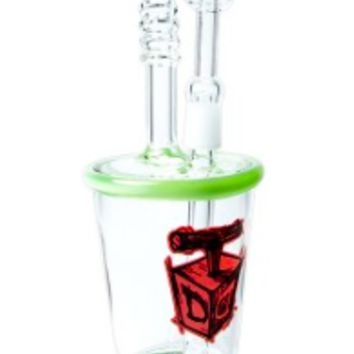 Dynomite Glass - Little Gulp 10mm Rig Cup  Made in USA!