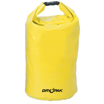 Dry Pak Roll Top Dry Gear Bag - 9-1/2 x 16 - Yellow