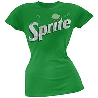 Sprite - Pearly Vintage Logo Juniors T-Shirt
