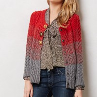 Marled Colorblock Cardigan