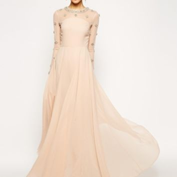 ASOS RED CARPET Princess Cluster Maxi