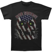 Rob Zombie Men's  American Band T-shirt Black