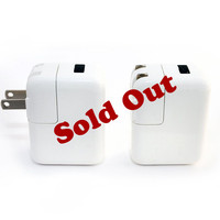 Dual USB Port Wall Charger for Smartphone and Tablet