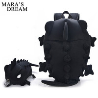 Mara's Dream 2017 Women Backpacks Cartoon Animal Shoulder School Bag For Teenagers Girls Boys Chameleon Lizard Travel Bag