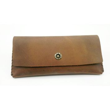 Women's Wallet | CHECKBOOK | %100 handcrafted | Leather