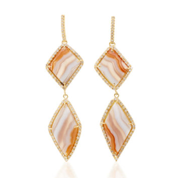 One-Of-A-Kind Agate Drops | Moda Operandi